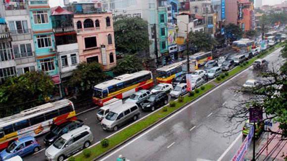 Đường Xuân Thủy - Cầu Giấy: Không cấm ô tô của hộ dân, doanh nghiệp ảnh 1