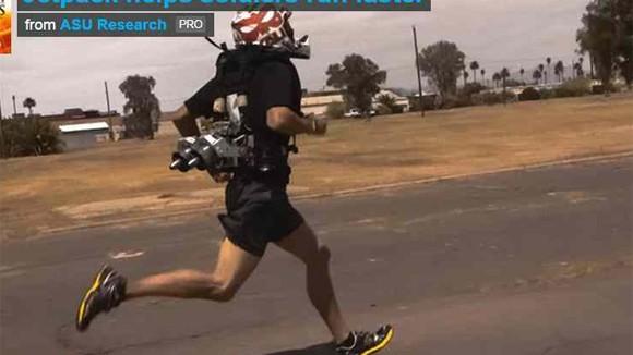 Ba lô giúp binh sĩ chạy nhanh hơn ảnh 1