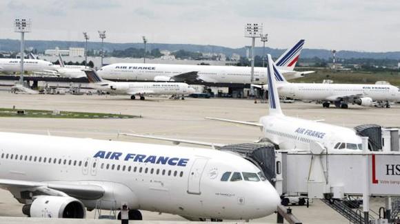 Hàng không Pháp hỗn loạn vì đình công ảnh 1