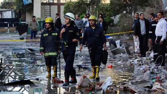 Ai Cập: Đánh bom gần Bộ ngoại giao, 4 người chết ảnh 1