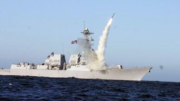 Mỹ ồ ạt dội bom cứ điểm IS tại Syria ảnh 1