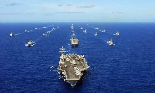 """""""Vành đai Thái Bình Dương"""" ngăn chặn tham vọng bá quyền trên biển ảnh 1"""