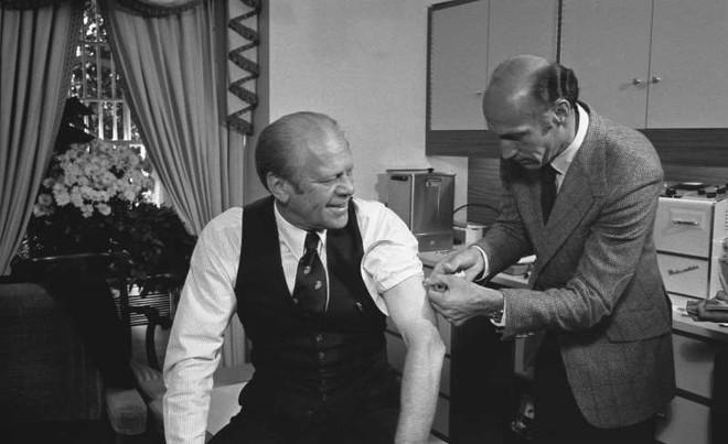 Có một chương trình vaccine trước mùa bầu cử năm 1976 ở Mỹ ảnh 1