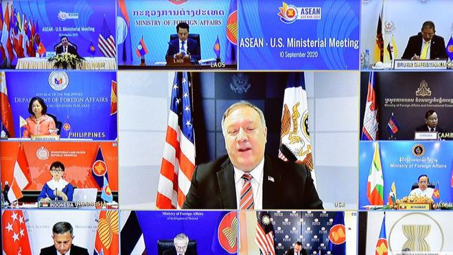Mỹ tái khẳng định lập trường về hòa bình ổn định, an ninh, tự do hàng hải trên Biển Đông ảnh 1