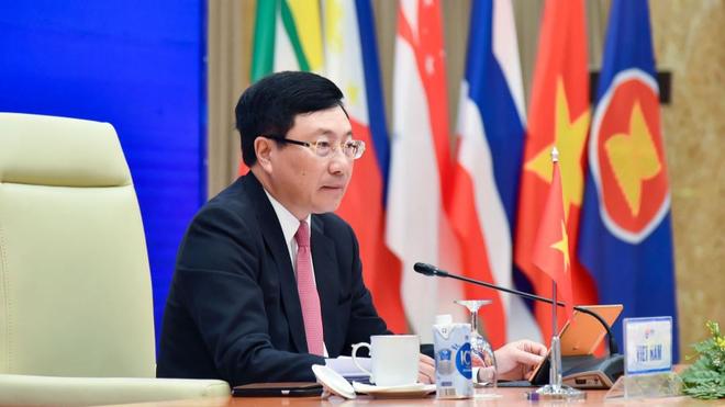 Hội nghị Bộ trưởng Ngoại giao ASEAN: Tái khẳng định lập trường nguyên tắc của ASEAN về hòa bình, ổn định trên Biển Đông ảnh 1