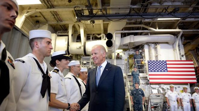 Nước Mỹ thời Joe Biden (7): Mạnh tay ngăn tham vọng chủ quyền ở Biển Đông ảnh 1