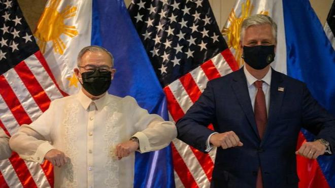 Mỹ luôn sát cánh cùng Philippines trong việc bảo vệ các quyền lợi ở Biển Đông ảnh 1