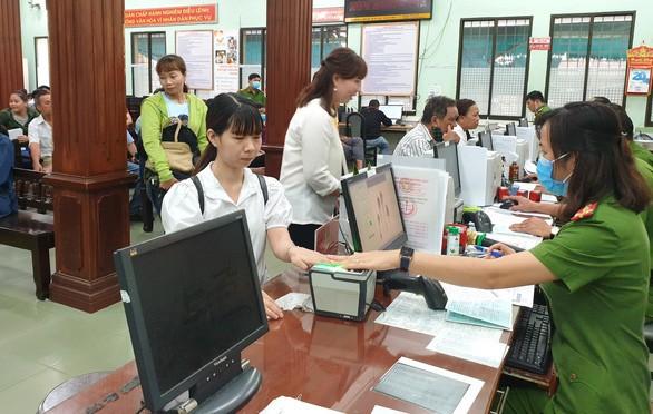 Dự thảo Thông tư: Quy định về trình tự cấp, đổi, cấp lại thẻ Căn cước công dân ảnh 1