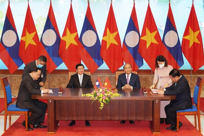 Hợp tác Việt - Lào vượt mục tiêu trong nhiều lĩnh vực ảnh 1