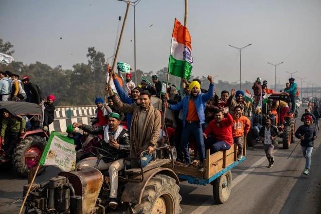 """Ấn Độ: Cuộc biểu tình của nông dân và vấn đề """"linh hồn nông thôn"""" ảnh 1"""
