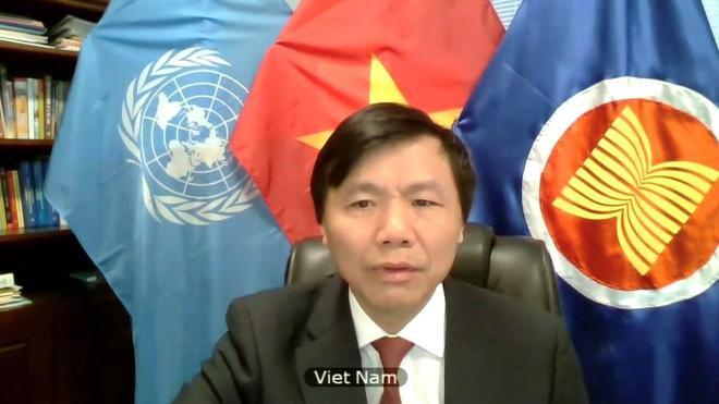 Việt Nam quan ngại về vấn đề sử dụng vũ lực trong luật pháp quốc tế ảnh 1