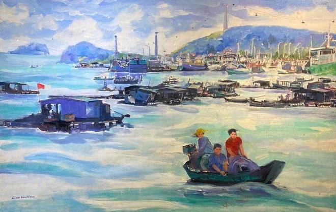 """Những """"góc biển"""" hoài niệm của các nữ họa sĩ Việt Nam ảnh 1"""