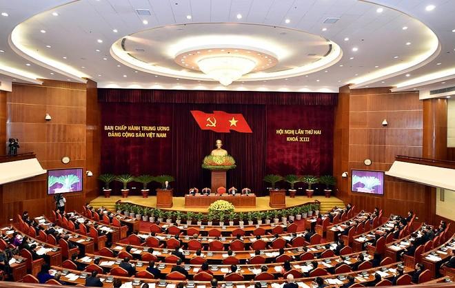 Thông báo Hội nghị lần thứ hai Ban Chấp hành Trung ương khóa XIII ảnh 1