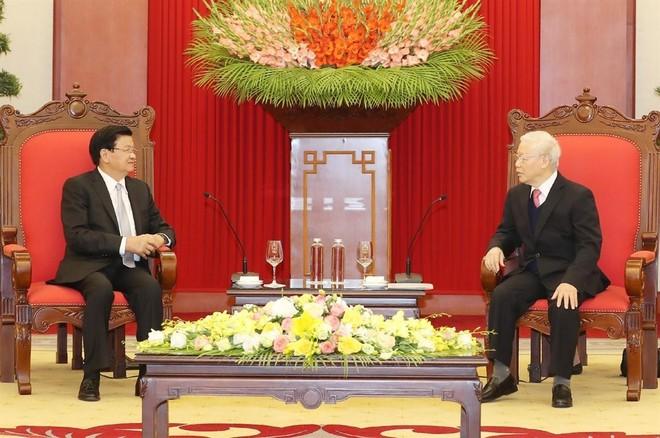 Vun đắp mối quan hệ đoàn kết đặc biệt Việt - Lào ngày càng phát triển ảnh 1