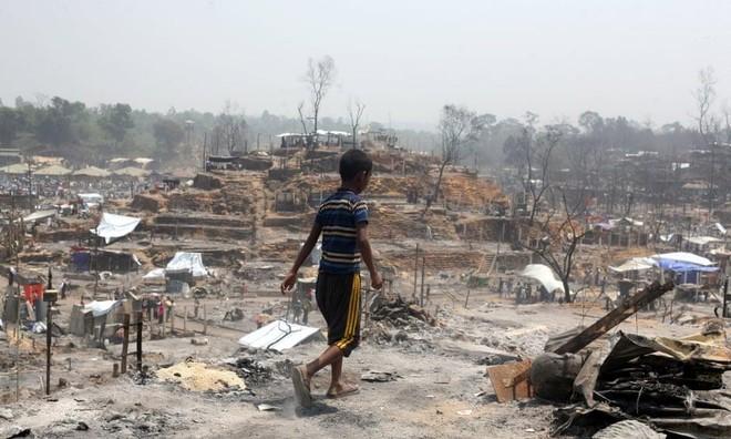 """""""Thảm kịch kép"""" với người tị nạn Rohingya ở Bangladesh ảnh 1"""