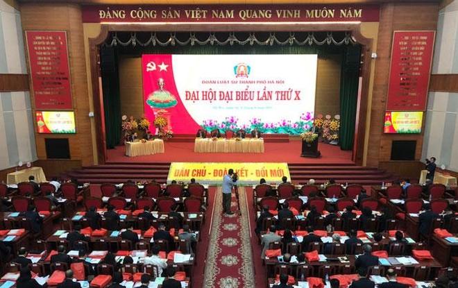 Khai mạc Đại hội đại biểu Đoàn Luật sư thành phố Hà Nội lần thứ X ảnh 1