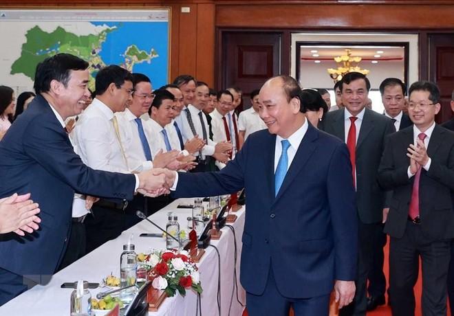 Chủ tịch nước Nguyễn Xuân Phúc: Nỗ lực tạo dấu ấn, chung tay xây dựng Việt Nam hùng cường ảnh 1