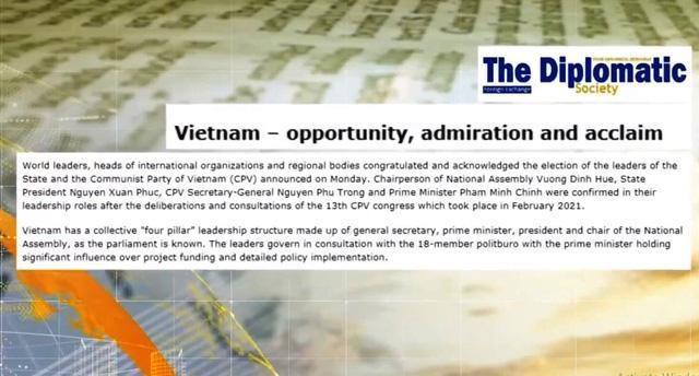 Dư luận quốc tế về ban lãnh đạo mới của Việt Nam: Bộ máy lãnh đạo có tâm và tầm ảnh 1