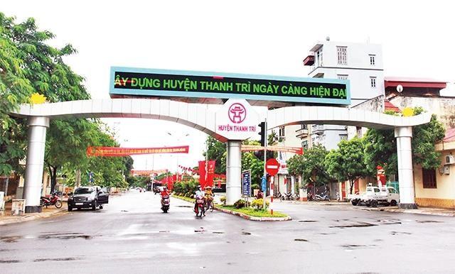 Hà Nội thành lập Ban Chỉ đạo xây dựng, phát triển 5 huyện thành quận ảnh 1