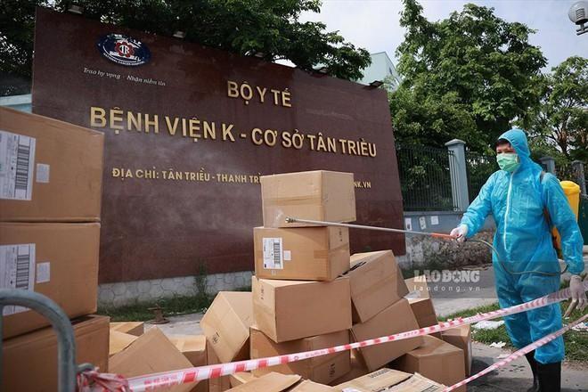 Rà soát, cách ly người đến Bệnh viện K (cơ sở Tân Triều) từ ngày 22-4 ảnh 1