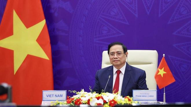 Thủ tướng Phạm Minh Chính: Chung tay xây dựng châu Á hòa bình, hợp tác, phát triển hơn nữa trong kỷ nguyên hậu Covid-19 ảnh 1