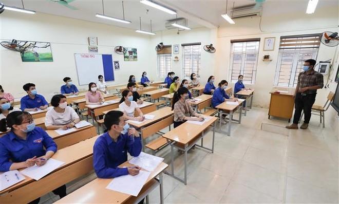 Hà Nội: Bảo đảm an toàn cao nhất cho thí sinh dự thi lớp 10 ảnh 1