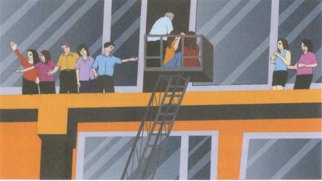 Khi bị mắc kẹt ở các tòa nhà cao tầng - cần những kỹ năng gì để có thể di chuyển đến nơi an toàn? ảnh 3