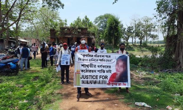 Bi kịch với nữ sinh viên 20 tuổi ở Tây Bengal, Ấn Độ ảnh 1