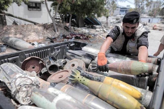 """Đội phá bom mìn ở dải Gaza: """"Mỗi ngày đều có thể là ngày cuối cùng của bạn"""" ảnh 2"""