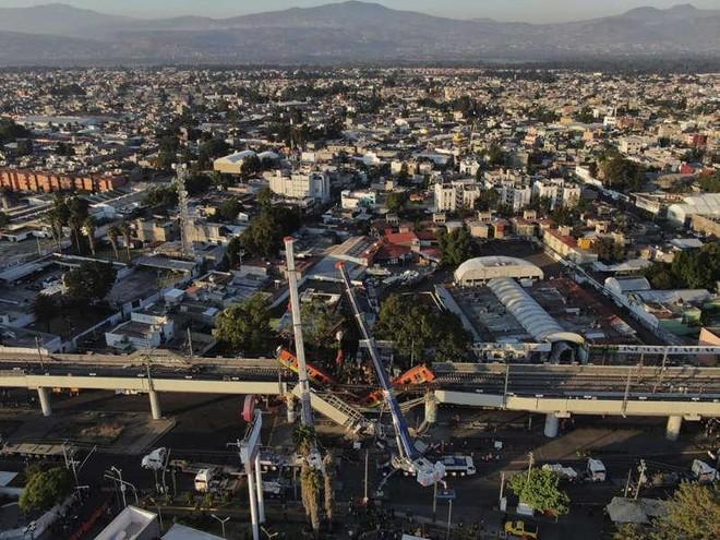 Phát hiện hàng loạt khiếm khuyết sau vụ sập đường sắt đô thị ở Mexico ảnh 1