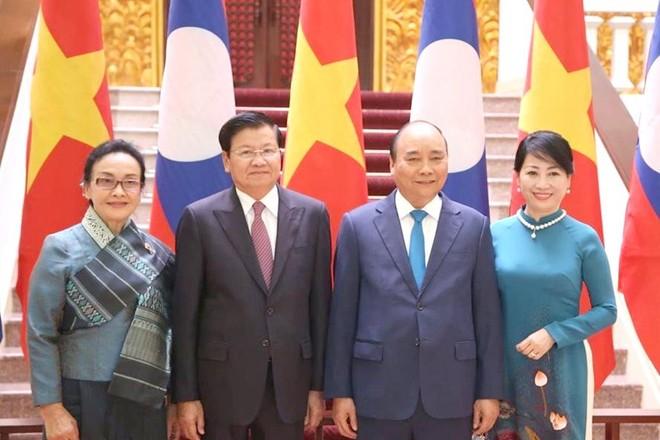 CHDCND Lào hết sức coi trọng mối quan hệ đặc biệt với Việt Nam ảnh 1