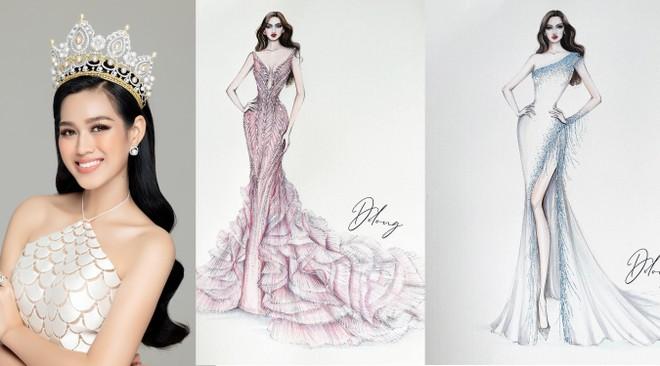 """5 mẫu thiết kế trang phục dạ hội cho đại diện Việt Nam tại """"Miss World 2021"""" ảnh 1"""