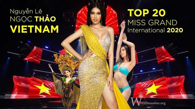 """2 người đẹp Việt Nam lọt Top 42 """"Hoa hậu đẹp nhất thế giới 2020"""" ảnh 1"""