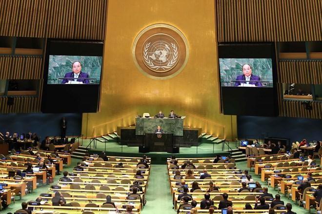 Kỷ niệm 44 năm Việt Nam gia nhập Liên hợp quốc: Đối tác mạnh mẽ vì hòa bình, phát triển bền vững ảnh 1