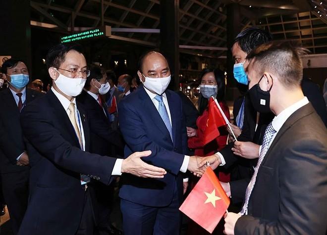 Chủ tịch nước Nguyễn Xuân Phúc tới Mỹ, bắt đầu dự chương trình Đại hội đồng Liên hợp quốc ảnh 2