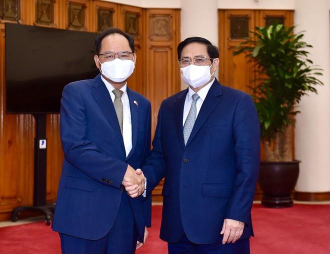 Việt Nam là đối tác đầu tiên được Hàn Quốc hỗ trợ song phương về vaccine ảnh 1