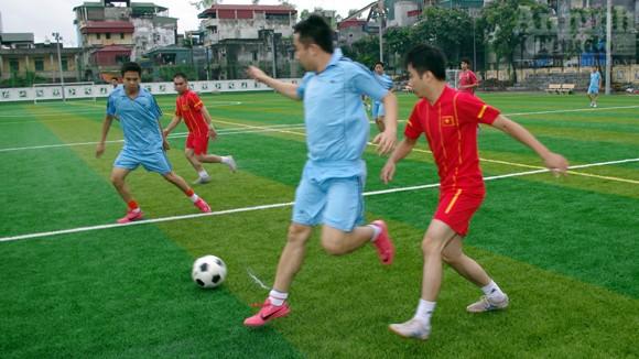 Giao lưu thể thao, thắn chặt đoàn kết, gắn bó