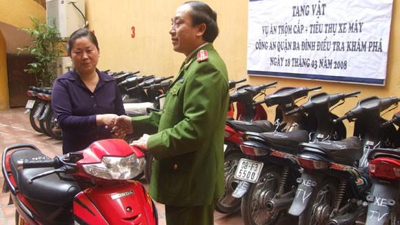 CAQ Tây Hồ, Ba Đình tìm chủ sở hữu xe Dream, Wave ảnh 1
