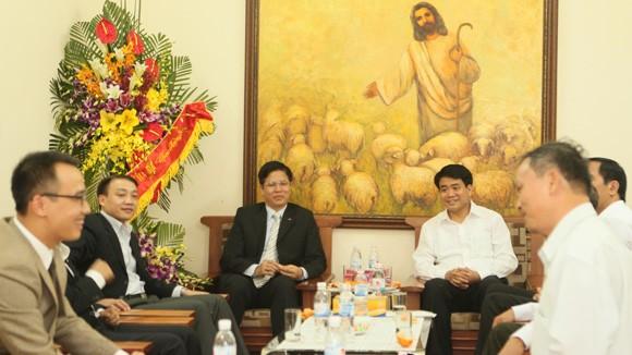 Công an Hà Nội chúc mừng Hội thánh Tin lành Việt Nam (miền Bắc) ảnh 1