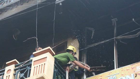 Cháy quán nhậu do hở khí gas ảnh 2