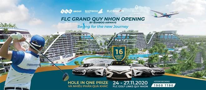 16 xe sang chờ đón golfer trong giải đấu mừng khánh thành khách sạn FLC Grand Hotel Quy Nhon ảnh 1