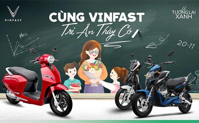 VinFast tặng quà tri ân thầy cô đón mừng ngày Nhà giáo ảnh 1