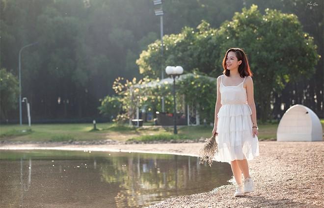 Trọn vẹn vẻ đẹp bình yên bên hồ Đại Lải ảnh 1
