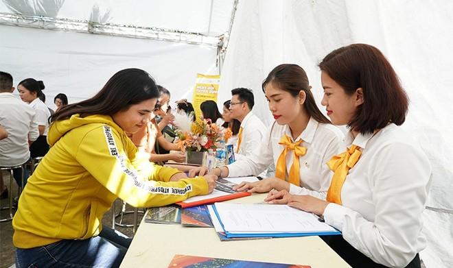 Ngày hội việc làm đã mở ra nhiều cơ hội cho người lao động tại Phú Quốc ảnh 3
