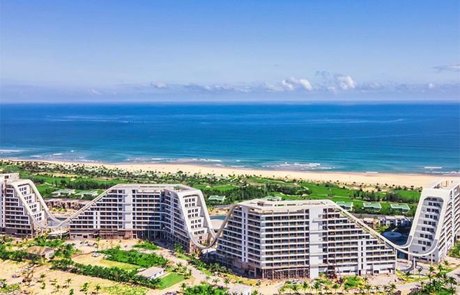 """Cận cảnh """"siêu phẩm nghỉ dưỡng"""" sắp khai trương FLC Grand Hotel Quy Nhon: 1.500 phòng, bể bơi ngoài trời 1.000m ảnh 2"""