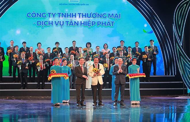 Sản phẩm của Tân Hiệp Phát lần thứ 6 liên tiếp đạt Thương hiệu quốc gia ảnh 2