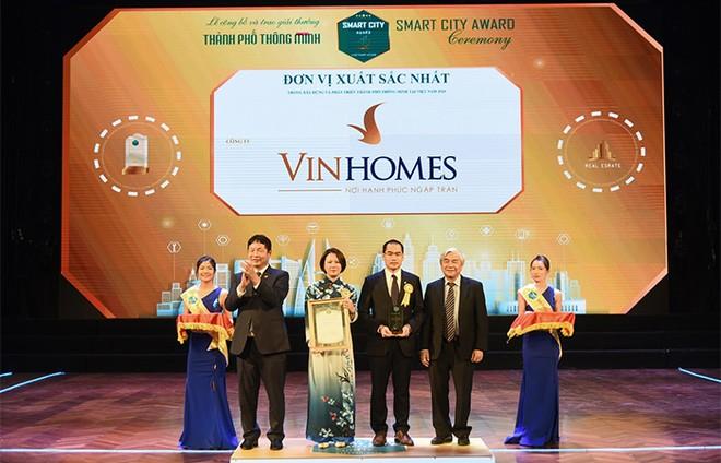 """Vinhomes Ocean Park đạt giải thưởng danh giá nhất của """"Thành phố thông minh 2020"""" ảnh 1"""