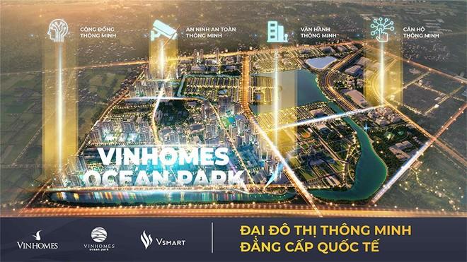 """Vinhomes Ocean Park đạt giải thưởng danh giá nhất của """"Thành phố thông minh 2020"""" ảnh 2"""