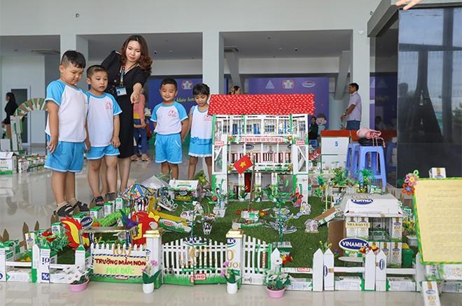 Hơn 46.300 học sinh tỉnh Vĩnh Long được thụ hưởng Sữa học đường năm học 2020-2021 ảnh 6