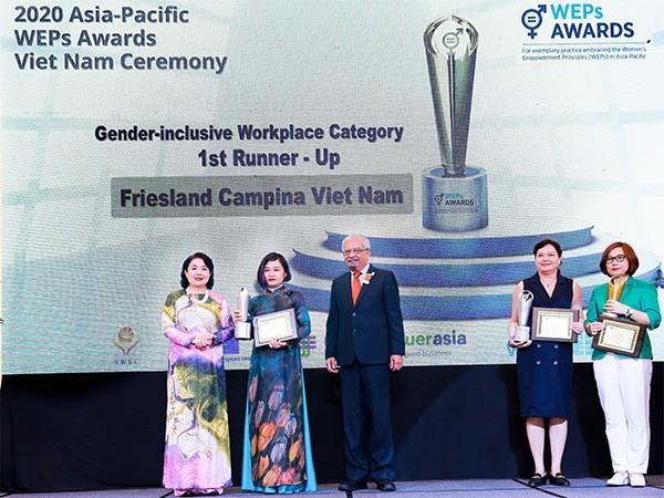 Friesland Campina Việt Nam tự hào nhận giải thưởng Trao quyền cho phụ nữ khu vực châu Á – Thái Bình Dương ảnh 2